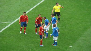 Italia vs Spagna per la Coppa del Mondo Russia 2018