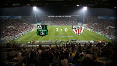 US Sassuolo vs Athletic Club Bilbao nella fase a Gironi della UEFA Europa League