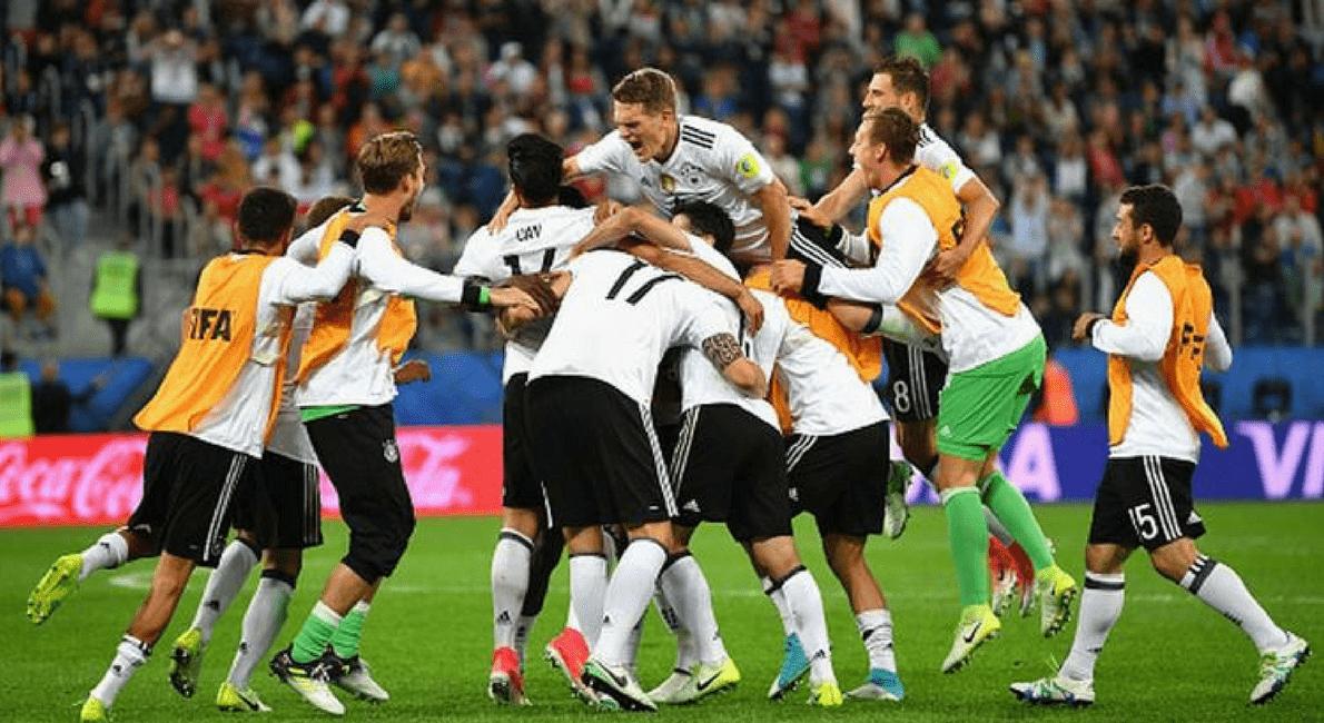 Germania - campione della FIFA Confederations Cup 2017