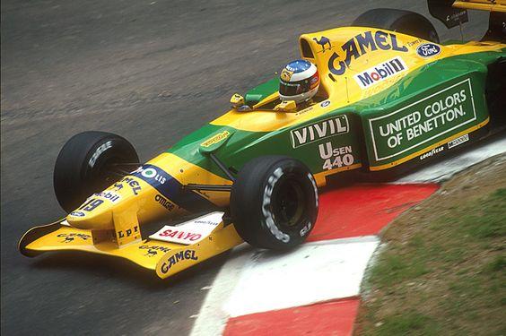 In Belgio 1992, Schumi vince il suo primo premio GP F1