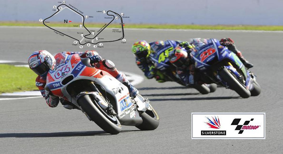 Moto GP British - Dovizioso e Ducati passano in testa al mondiale