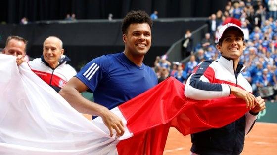 Francia qualificata per la 18esima finale di Coppa Davis