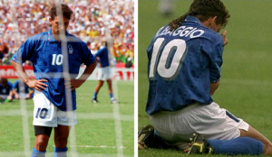 Roberto Baggio sbaglia il rigore