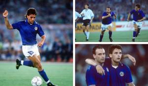 Roberto Baggio e Toto Schillaci Italia 90