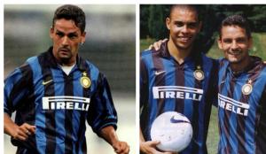 Roberto Baggio e Ronaldo