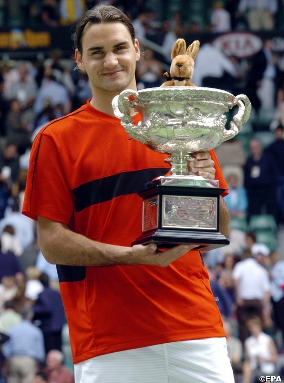 2004 l'inizio della leggenda Federer