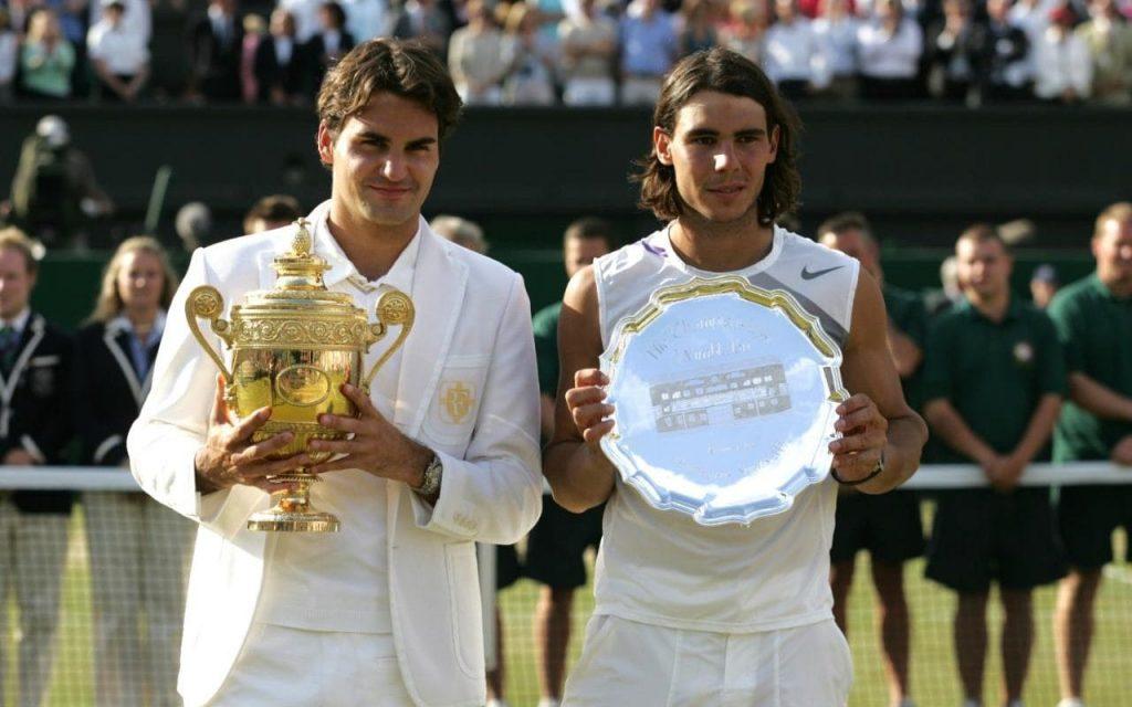2007 Finale Wimbledon Federer v Nadal