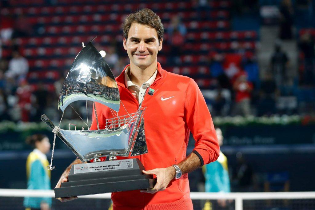 2014 Dubai il sesto trofeo per Federer