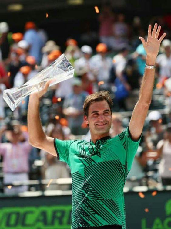 Federer vince il Masters 1000 Miami 2017