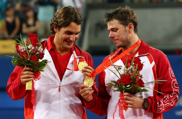 Federer e Wawrinka oro Olimpico 2008