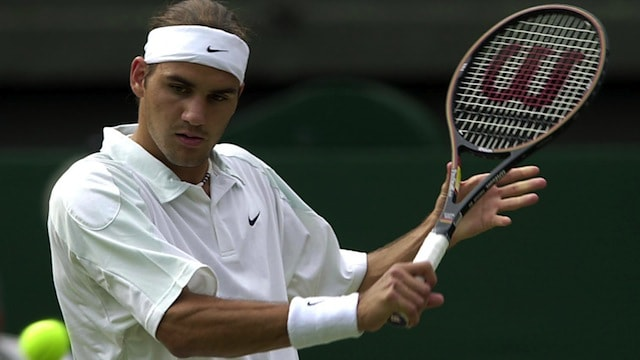 Federer Wimbledon 2001