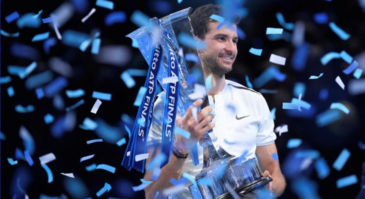Grigor Dimitrov il nuovo Maestro della Finale ATP 2017