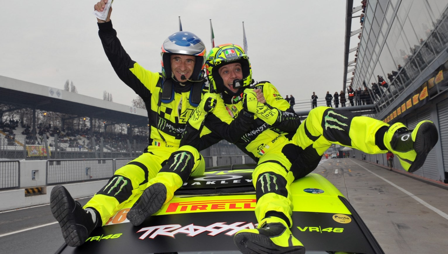 Rally - Rossi trionfa a Monza
