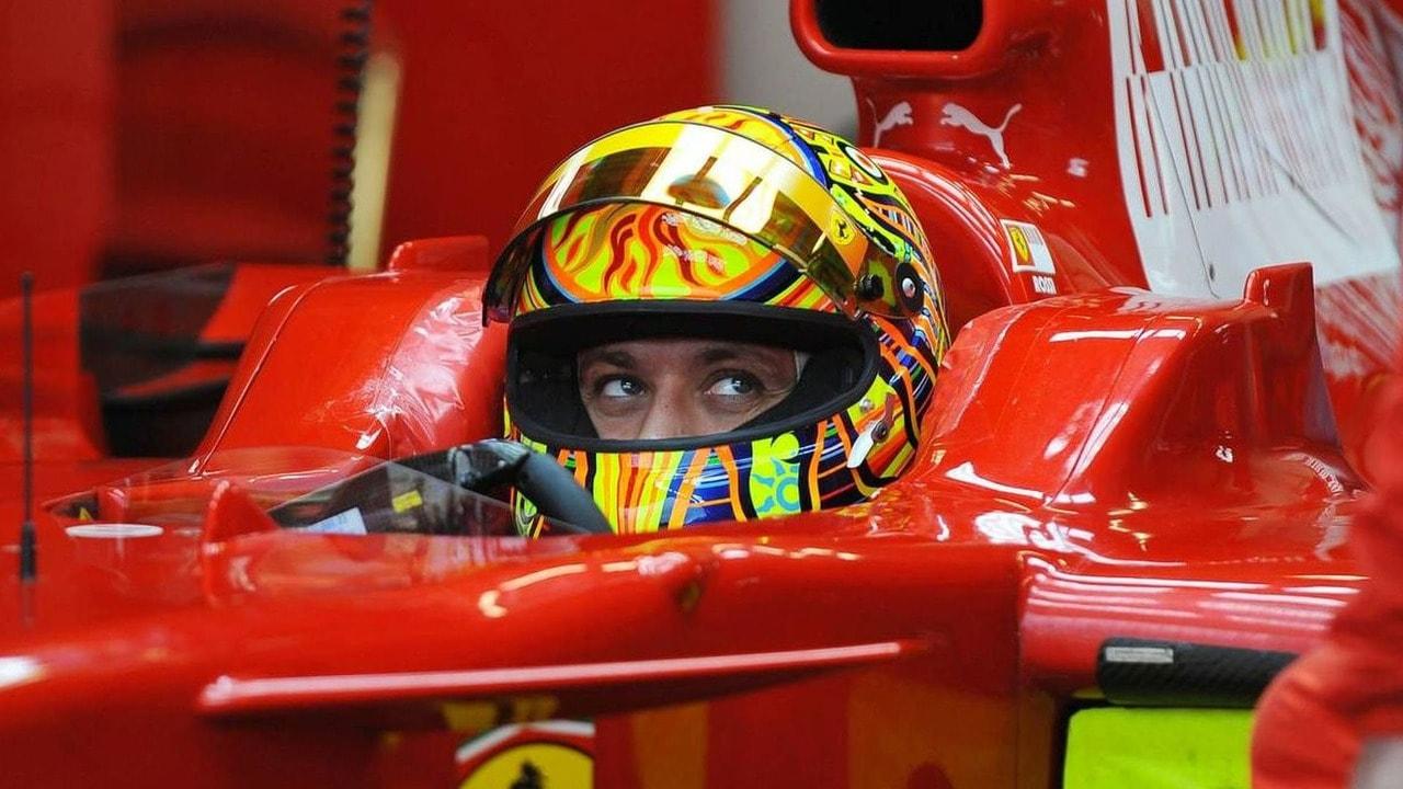 Valentino Rossi - test Ferrari