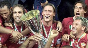 Francesco Totti - Supercoppa Italia 2001