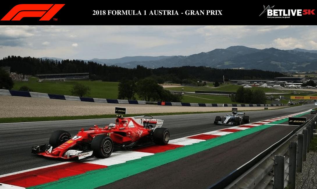 Formula 1 grand premio austria 2018