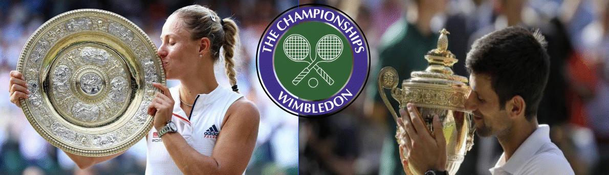 Vincitori Wimbledon 2018 Angelique Kerber e Novak Djokovic