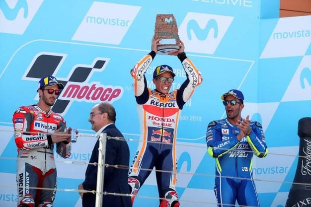 podio-motogp-aragon-2018