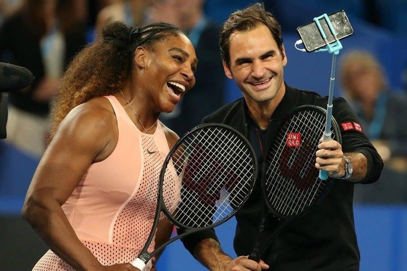 Serena e Federer Hopman Cup 2019