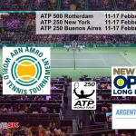 ATP Rotterdam New York e Buenos Aires