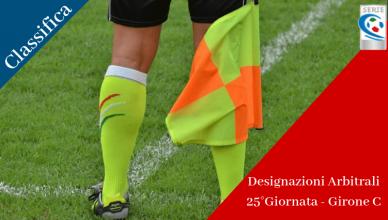Designazioni Arbitrali 25°Giornata - Girone C-betlive5k
