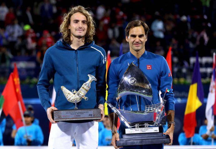 Federer-vincitore-Tsitsipas-secondo-Dubai-2019