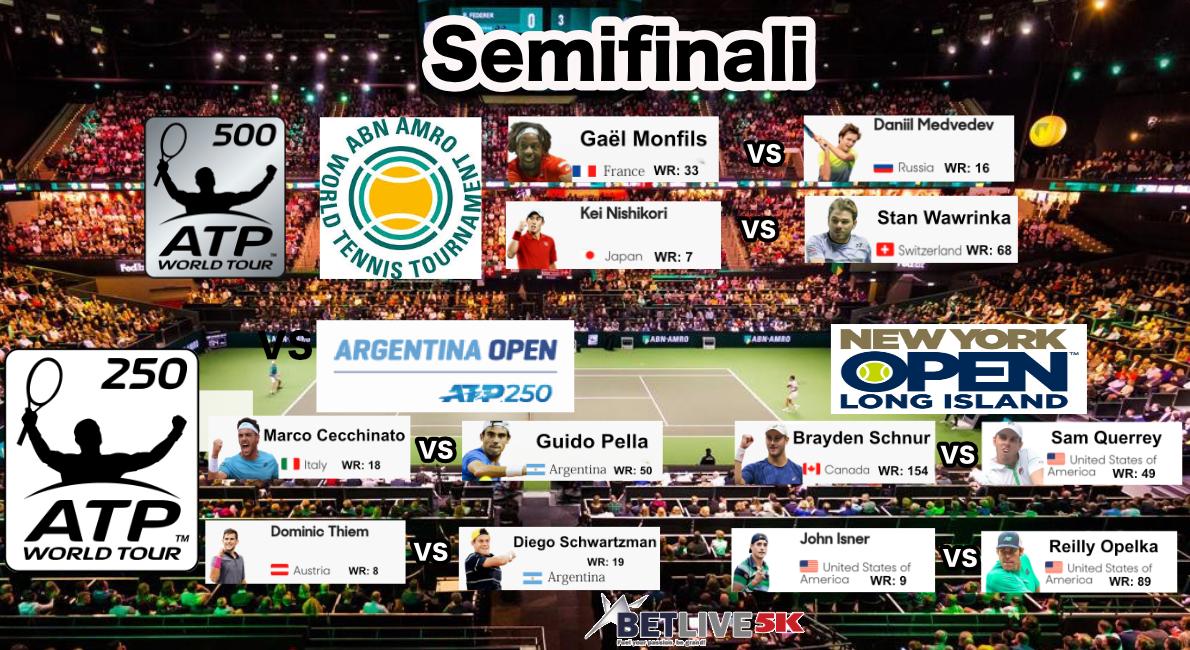 Semifinali-ATP-Rotterdam-New-York-Buenos-Aires-2019