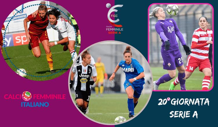 calcio-femminile-20Giornata-SERIE-A-pronostici-betlive5k,.it