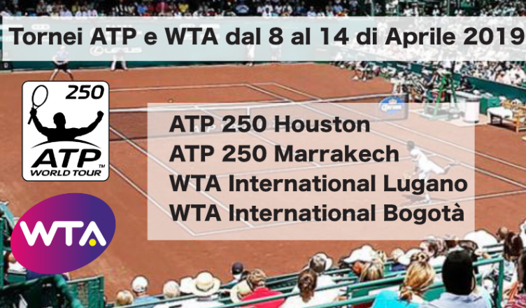 Calendario Tornei Atp 2020.Tennis Atp E Wta Dal 8 Al 14 Aprile 2019 Betlive5k It Blog