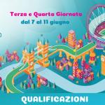 Terza e Quarta Giornata dal 7 al 11giugno 2019-euro 2020-min