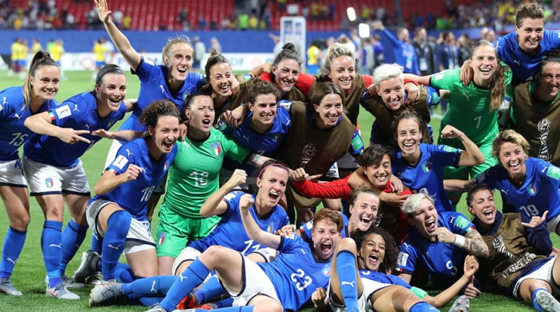 L' Italia vince contro la Cina 2-0 e si qualifica ai Quarti di Finale