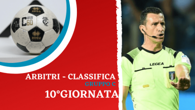 ARBITRI - CLASSIFICA-10GIORNATA-LEGA-PRO-NEWBETLIVE5K.IT