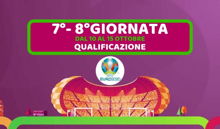 EURO 2020-7°-8°GIORNATA-QUALIFICAZIONE-10-15-OTTOBRE-2019-NEWBETLIVE5K.IT