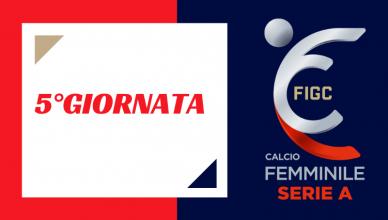 5°GIORNATA-SERIE-A-CALCIO-FEMMINILE-TIM-VISION-NEWBETLIVE5K.IT