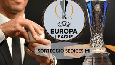 SORTEGGIO SEDICESIMI EUROPA LEAGUE.16dicembre-newbetlive5k.it