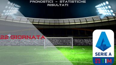 22°GIORNATA-serie-a-pronostici-statistiche-risultati-newbetlive5k.it