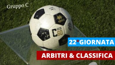 ARBITRI-CLASSIFICA-22°GIORNATA-GRUPPO-C-SERIE-C-LEGA-PRO-NEWBETLIVE5K.IT