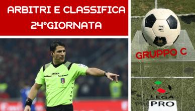 ARBITRI E CLASSIFICA 24°GIORNATA-LEGA-PRO-GRUPPO-C-NEWBETLIVE5K.IT