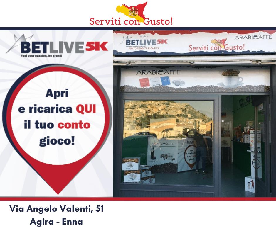 Serviti con Gusto Via Angelo Valenti, 51 Agira - Enna-serviti con gusto punto vendita ricarica betlive5k