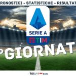 1°giornata Serie A 2020-2021 pronostici statistiche risultati Betlive5k