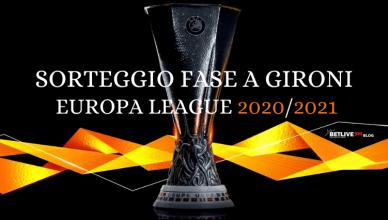 SORTEGGIO FASE A GIRONI EUROPA LEAGUE 2020_2021 betlive5k