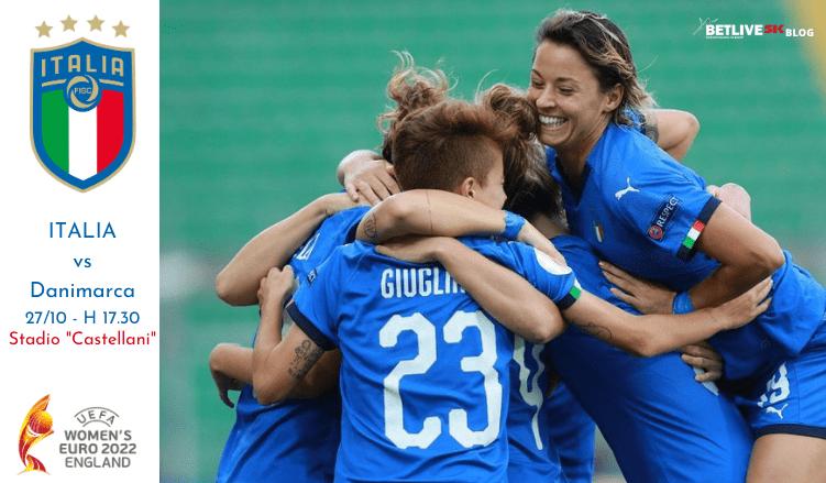 italia - danimarca 27 ottobre qualificazioni europeo 2022 betlive5k