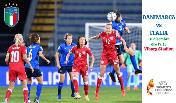 DANIMARCA vs ITALIA - 1 dicembre 17.15 europei donne-betlive5k