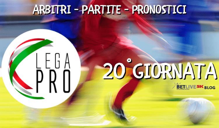 ARBITRI - PARTITE - PRONOSTICI-20GIORNATA-BETLIVE5K