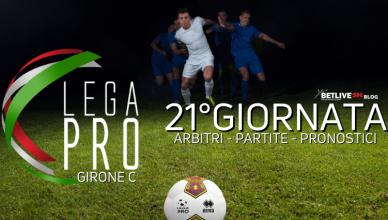 ARBITRI - PARTITE - PRONOSTICI-21GIORNATA-BETLIVE5K