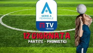 SERIE-A-CALCIO-FEMMINILE-12°GIORNATA-PARTITE-PRONOSTICI-BETLIVE5K