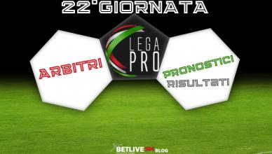 ARBITRI-PRONOSTICI-RISULTATI-22GIORNATA-LEGA-PRO-GIRONE-C-BETLIVE5K