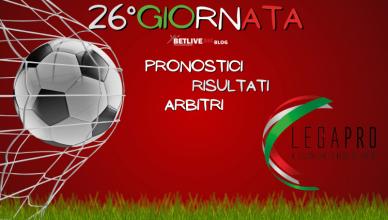 ARBITRI-PRONOSTICI-RISULTATI-26GIORNATA-LEGA-PRO-GIRONE-C-BETLIVE5K