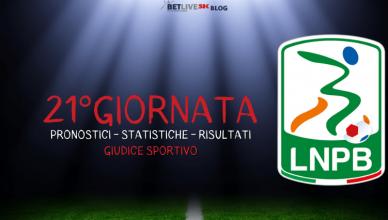 PRONOSTICI - STATISTICHE - RISULTATI- SERIE-B-21GIORNATA-BETLIVE5K