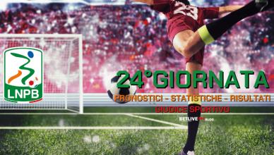 PRONOSTICI - STATISTICHE - RISULTATI- SERIE-B-24GIORNATA-BETLIVE5K